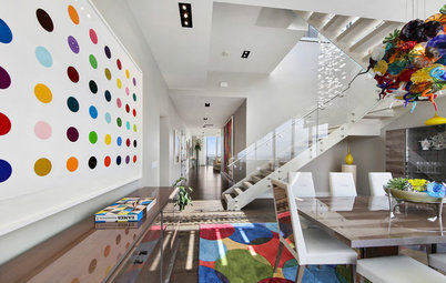 10 Modi per Portare la Tendenza Arcobaleno in Casa