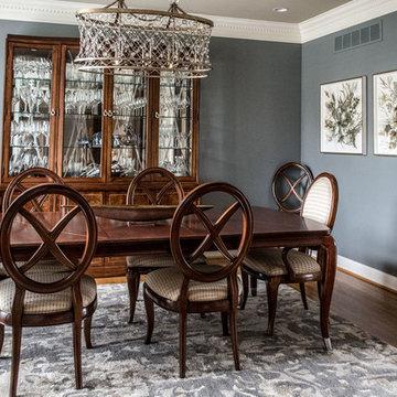 2018   Lake Forest Freshen Up: Living Room + Dining Room