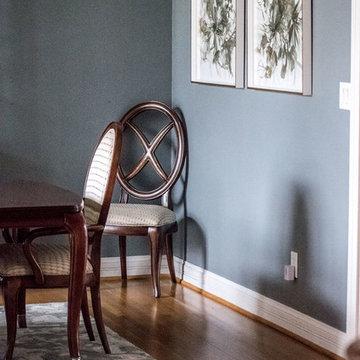 2018 | Lake Forest Freshen Up: Living Room + Dining Room