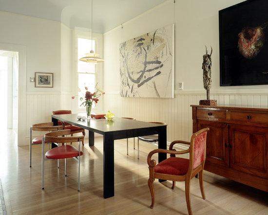 Beadboard Dining Room | Houzz