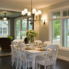 Contemporary Dining Room by Shane D. Inman