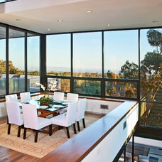 Contemporary Dining Room by Meridith Baer Home