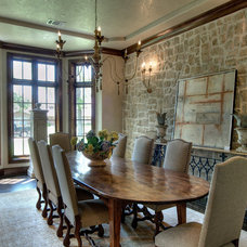 Traditional Dining Room by Rice Residential Design