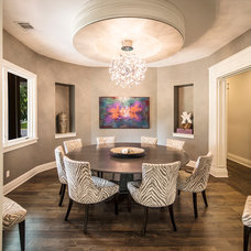 Contemporary Dining Room by C-Reese Architectural Design