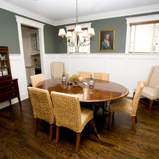 Craftsman Dining Room by Macallan Custom Homes and Renovations