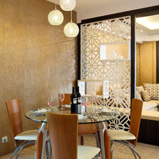 Eclectic Dining Room by The Interior Place (S) Pte Ltd