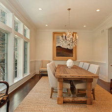 Traditional Dining Room by Heritage Luxury Builders