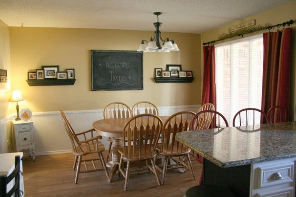 Traditional Dining Room by 320 Sycamore