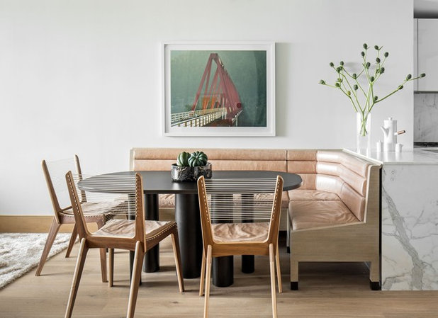 Contemporary Dining Room by Aerial Design and Build