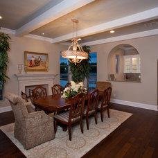 Dining Room by David Mills Custom Homes