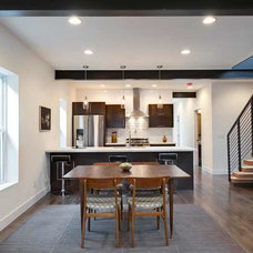 Contemporary Dining Room by Work Shop Denver