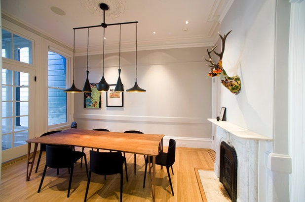 Contemporary Dining Room by Todd Davis Architecture