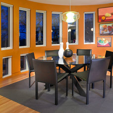 Contemporary Dining Room by Cheri Belz, Architect