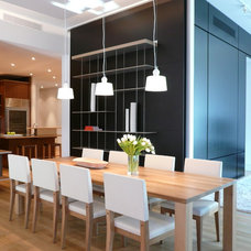 Contemporary Dining Room by West Chin Architects & Interior Designers