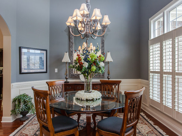 American Traditional Dining Room by Cynthia Walker Photography