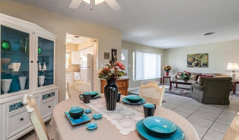 447 Hazelwood Staging--Professional Photo of Staged Dining & Living Rooms