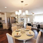 Vintage Gold Coast Condo Traditional Dining Room