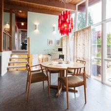Modern Dining Room by Kenorah Design + Build Ltd.