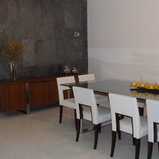 Modern Dining Room by Stol construction corp