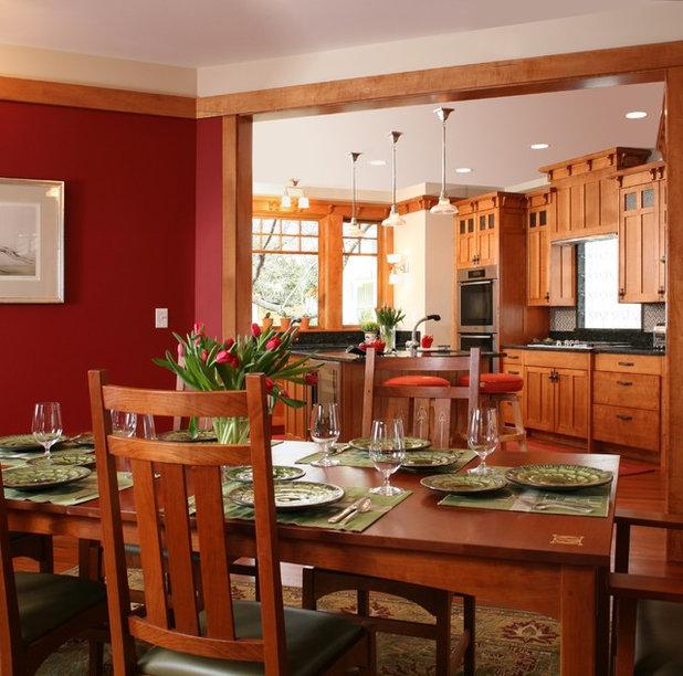 Craftsman Dining Room by Christian Gladu Design