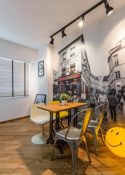 Contemporaneo Sala da Pranzo by Fineline Design Pte Ltd