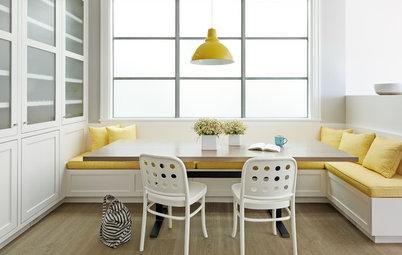 12 bonnes raisons d'ajouter une banquette à son coin repas