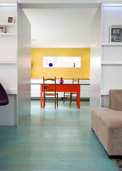 Contemporary Dining Room by E/L STUDIO