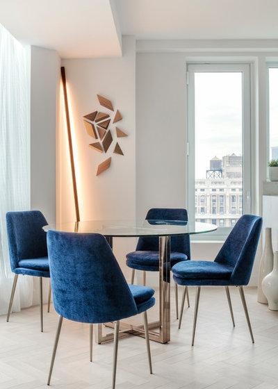 Scandinavian Dining Room by Committee Creative