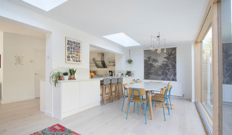 Room Tour: A Broken-plan Ground Floor is a Sociable Family Space