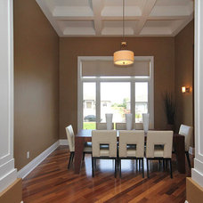 Contemporary Dining Room by BroNick Contracting & Management Inc   (Ottawa)