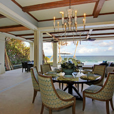 Mediterranean Dining Room by Claremont Companies