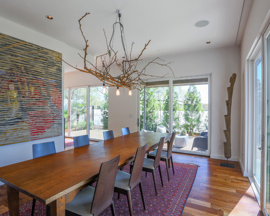 oversized dining room table | houzz