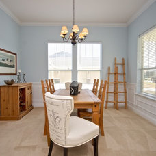 Traditional Dining Room by Staging & ReDesign