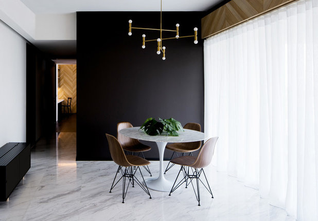 Contemporary Dining Room by Studio Wills + Architects