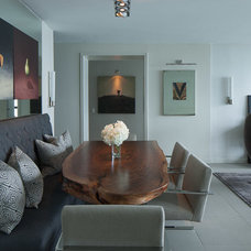 Contemporary Dining Room by jamesthomas, LLC