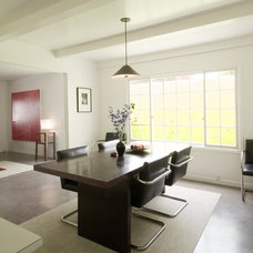 modern dining room by emily jagoda