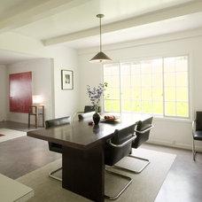 Modern Dining Room by emily jagoda