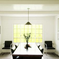 Contemporary Dining Room by emily jagoda