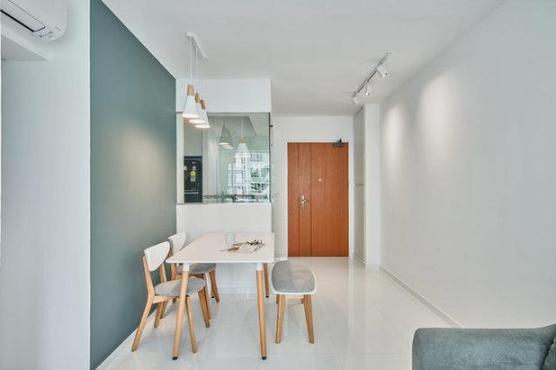 Scandinavian Dining Room by DB Studio
