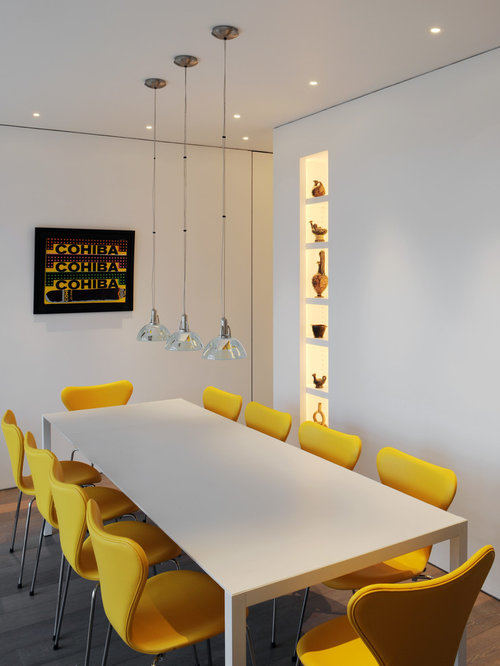 SaveEmail - Yellow Upholstered Dining Chairs Houzz