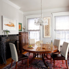 Traditional Dining Room by PLATEMARK DESIGN
