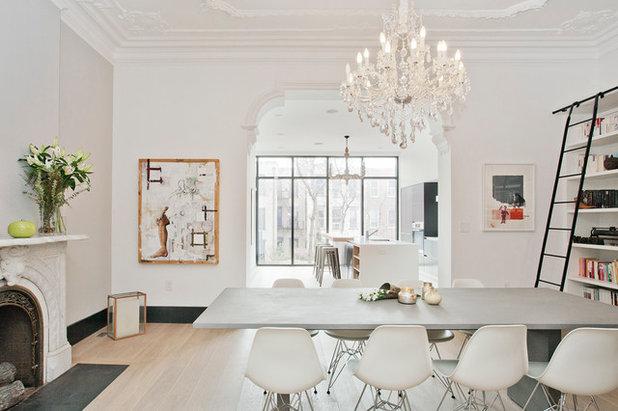 Scandinavian Dining Room by Jensen C. Vasil  Architect PC