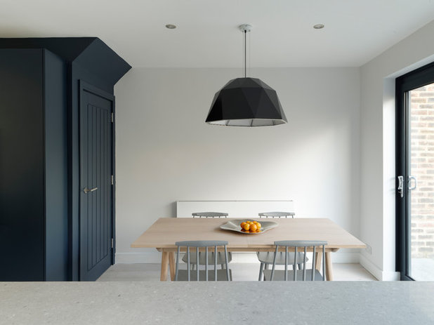 Contemporary Dining Room by fiftypointeight Architecture + Interiors