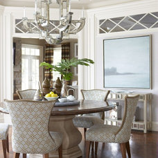 Traditional Dining Room by Cindy Rinfret