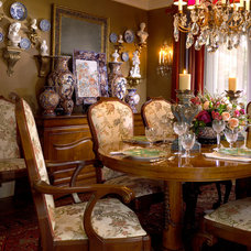 Traditional Dining Room by Jason Moore & Associates