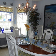 Traditional Dining Room by Lisa's Creative Designs