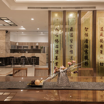 A design with multiple personalities, Zen and religions