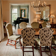 Traditional Dining Room by Teri Thomas Interiors