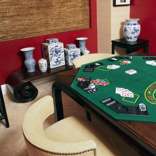 A game room with sophistication