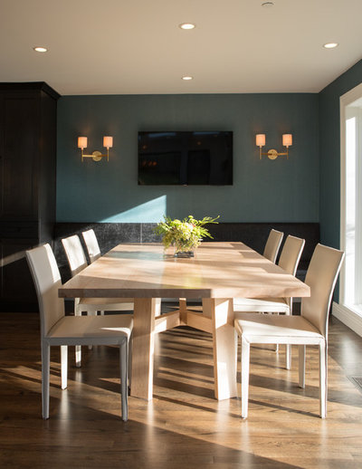 Contemporary Dining Room by Design Harmony